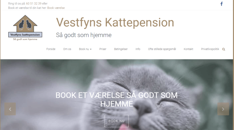 Billig Wordpress Hjemmeside til Vestfynskattepension.dk lavet af Dit Online Visitkort